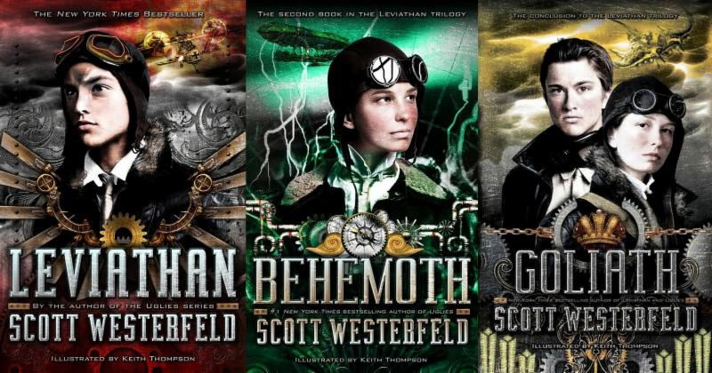 Leviathan trilogy by Scott Westerfeld