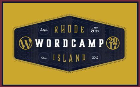 wordcamp 2017 rhode island