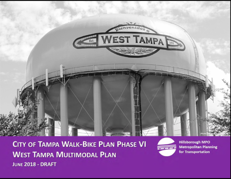 West Tampa Multi Modal Plan cover