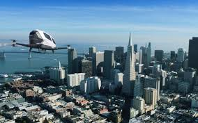Uber plans self-flying drone taxis
