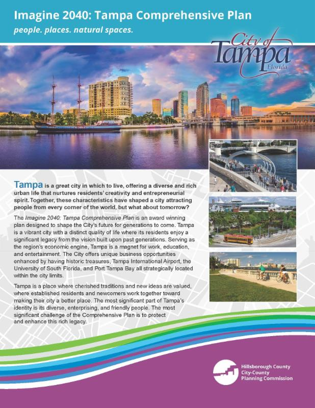 Imagine 2040_ Tampa Comprehensive Plan brochure