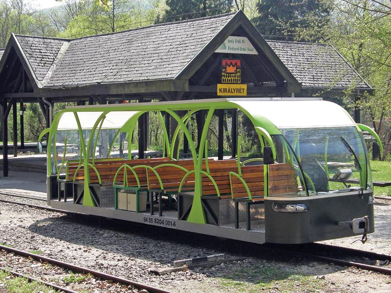 Solar Powered Electric Rail Car