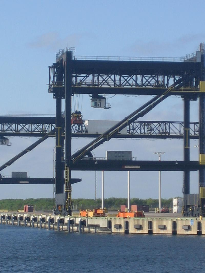 Port of Tampa Container Terminal