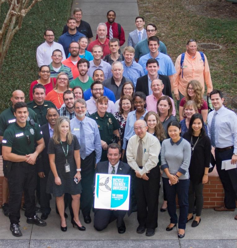 USF recieves Silver Level Bicycle Friendly Award