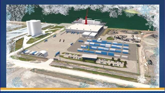 Port Tampa Bay Port Logistics Refrigerated Service Rendering