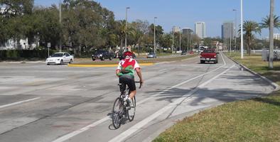 Bayshore Bike Lane