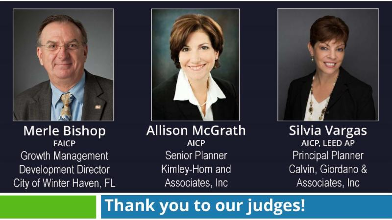 Thank you to our judges_
