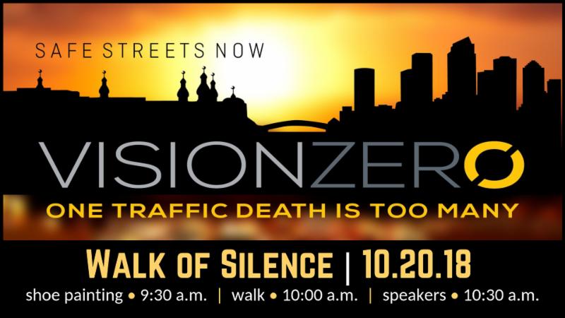 Vision Zero Walk of Silence 10.20.18