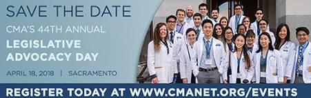 CMA's 44th Annual Legislative Advocacy Day Ad