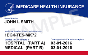 Mediccare Health Insurance Card