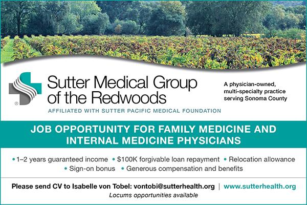 Sutter Medical Group of the Redwoods Ad