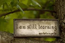 I am still learning -michelangelo
