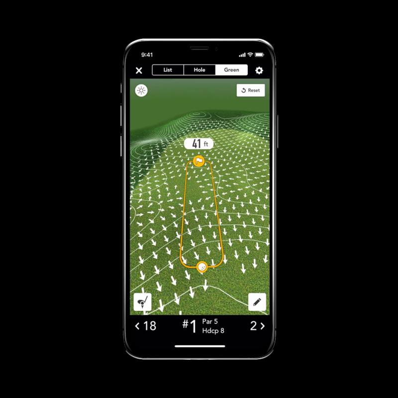 GolfLogix App Screens