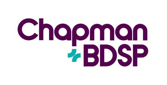 Chapman BDSP logo