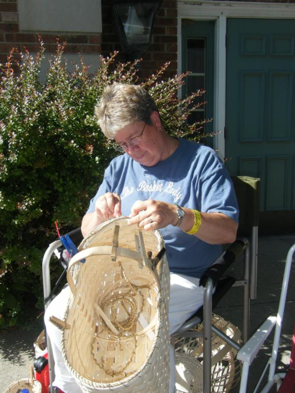 Basket Making Supplies Indiana : Basket weaving class starke county chamber of commerce