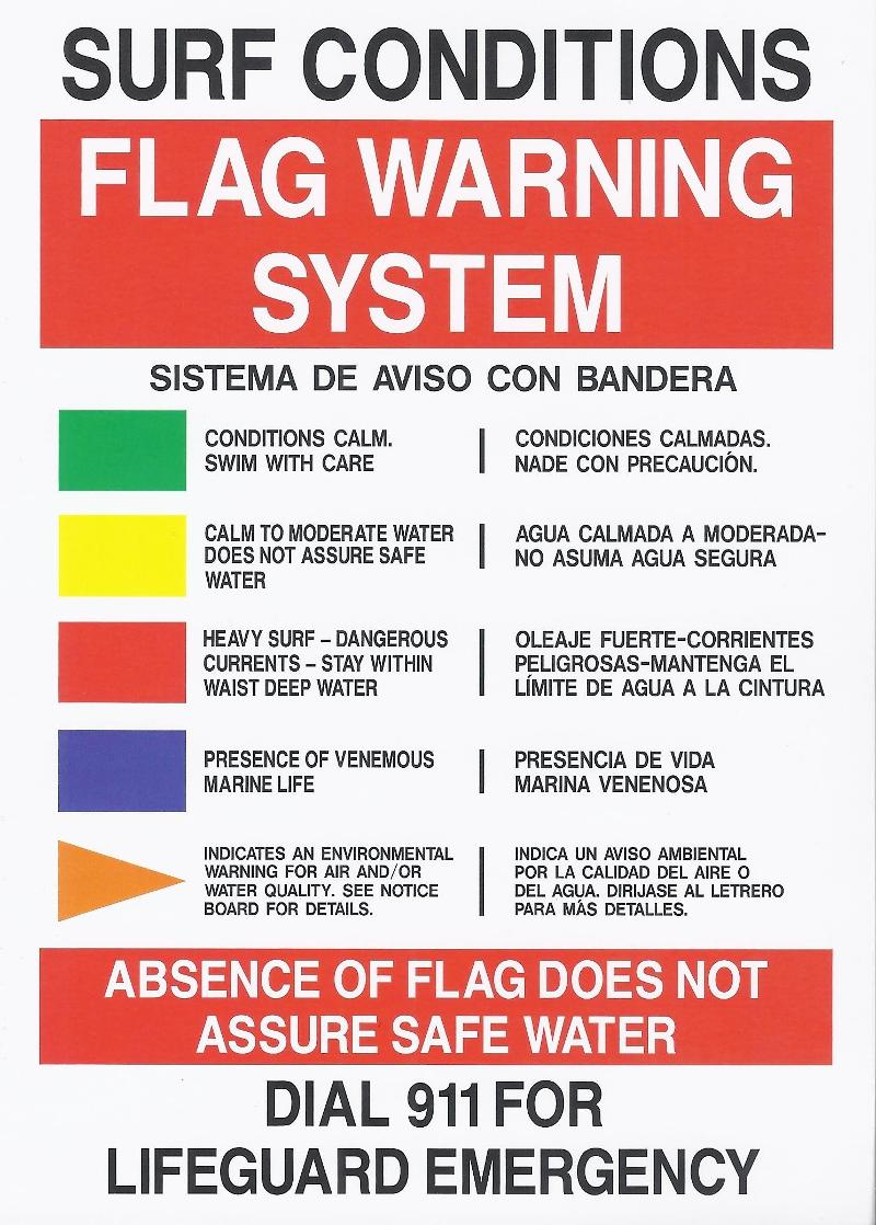 Flag Warning