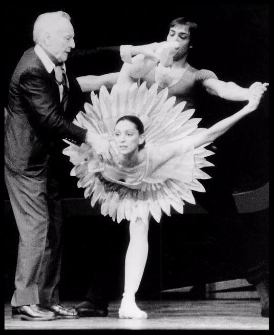 Balanchine and Stephanie