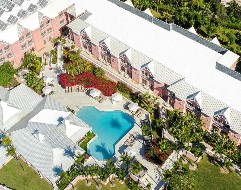 COMFORT SUITES PARADISE ISLAND REPORTS STRONG WINTER