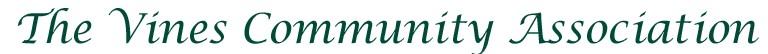 The Vines Community Association Logo