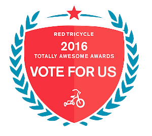 Red Tricycle vote for Us