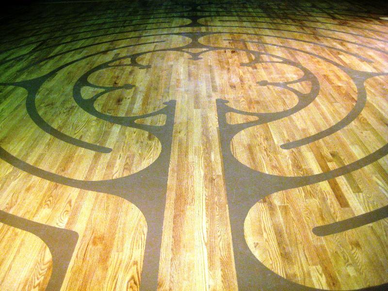 Labyrinth entrance