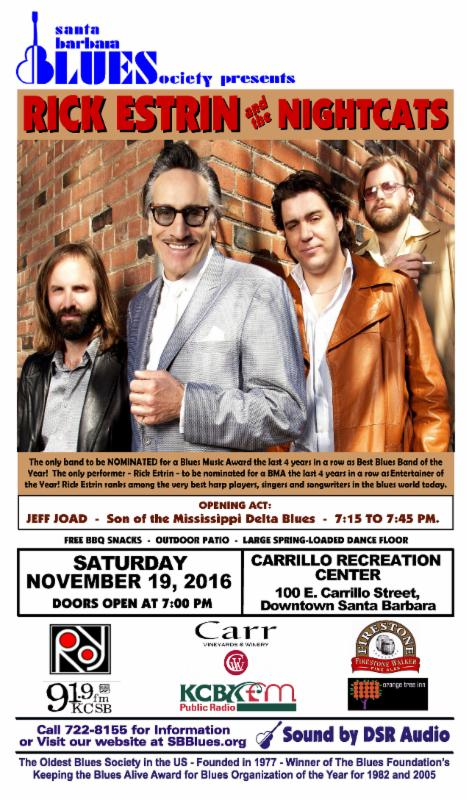 Southland Blues E-Weekly 11/17/16
