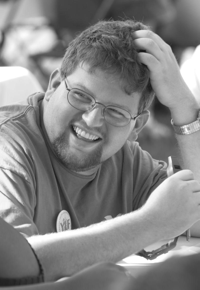 Justin Cosco in 2003
