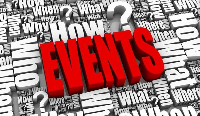 Events - What, where, when...