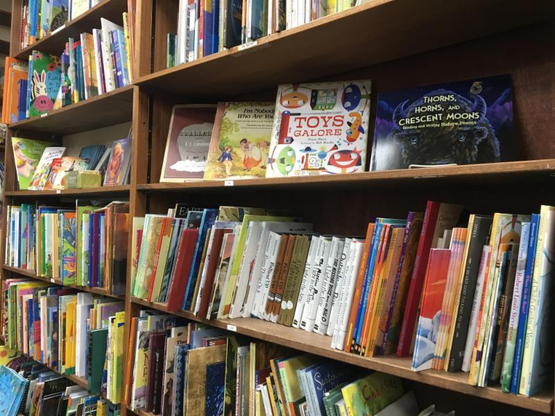 Poetry shelves