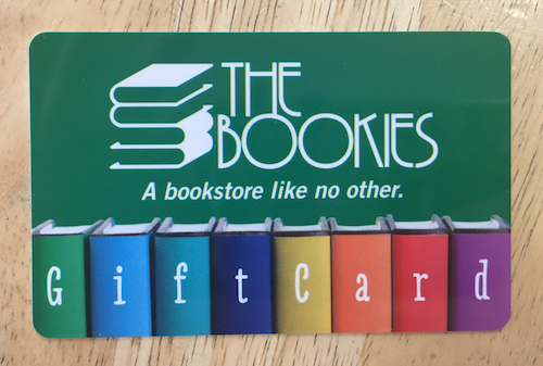 Bookies gift card