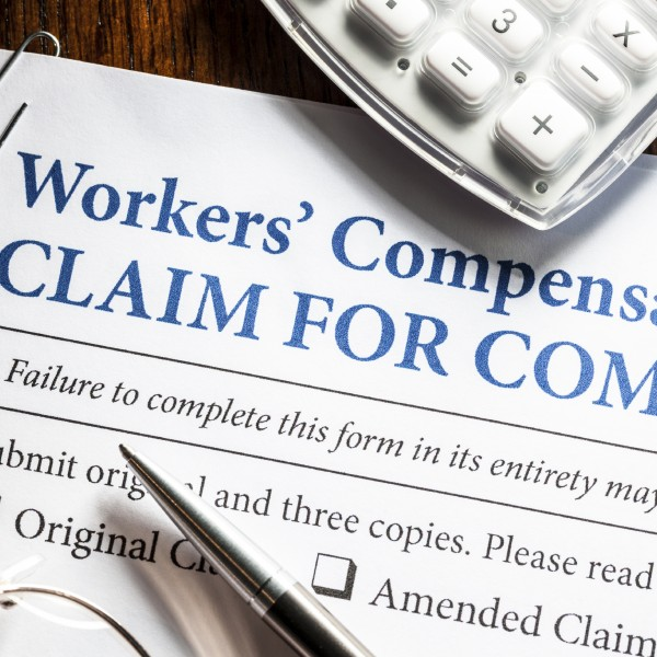 Workers compensation claim image