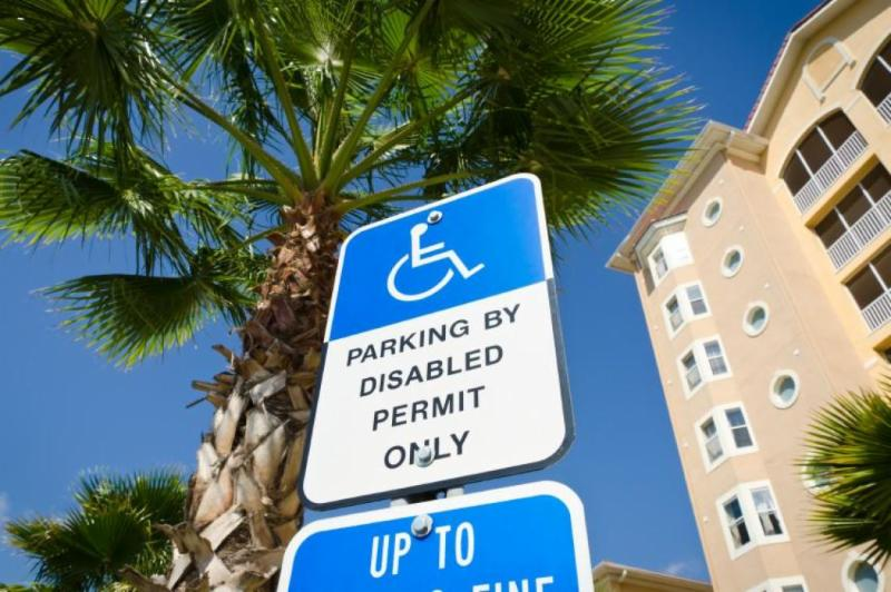 accessible parking sign