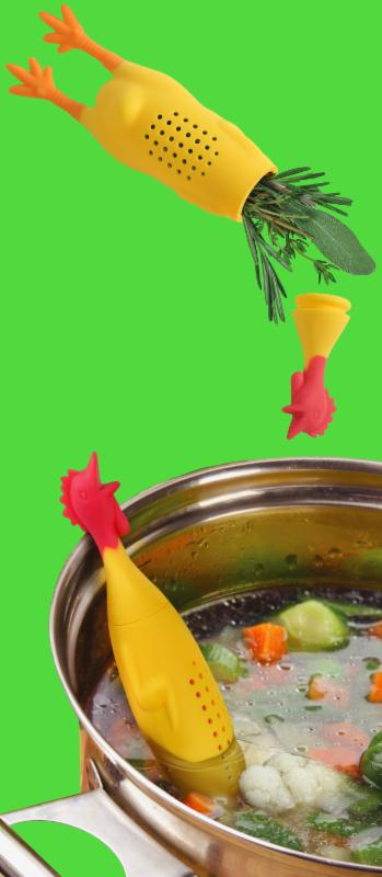 Le CROCK COQ Chicken Herb Infuser