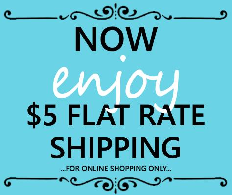 $5 Flat Rate Shipping Online