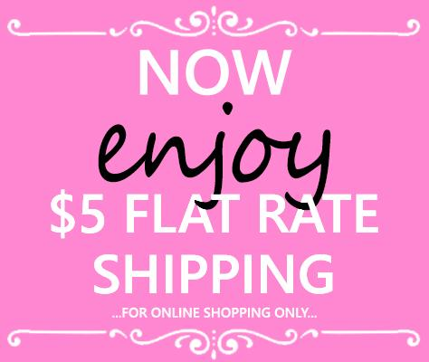 $5 Flat Rate Shipping
