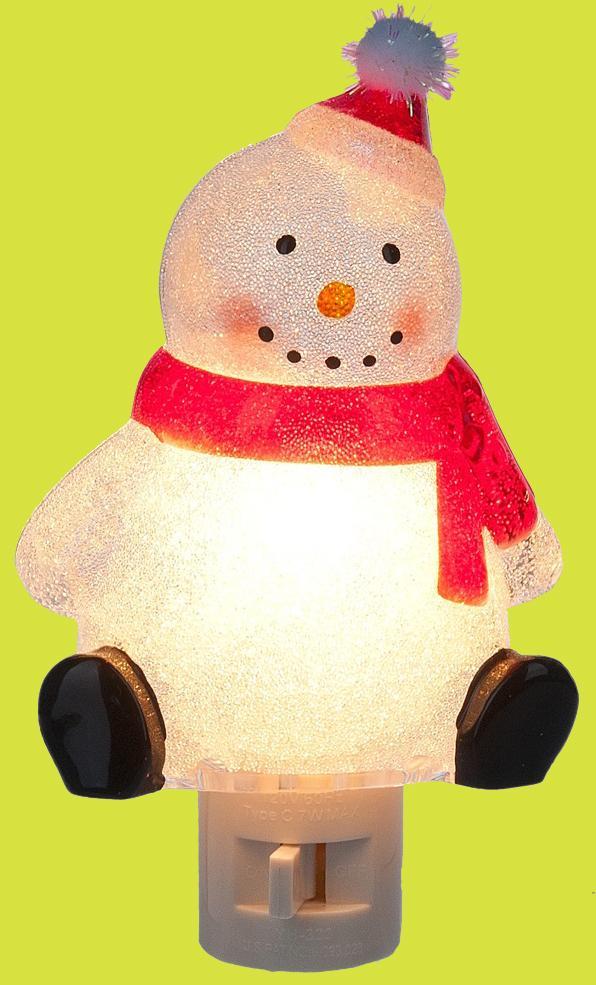 Snowman Night Light