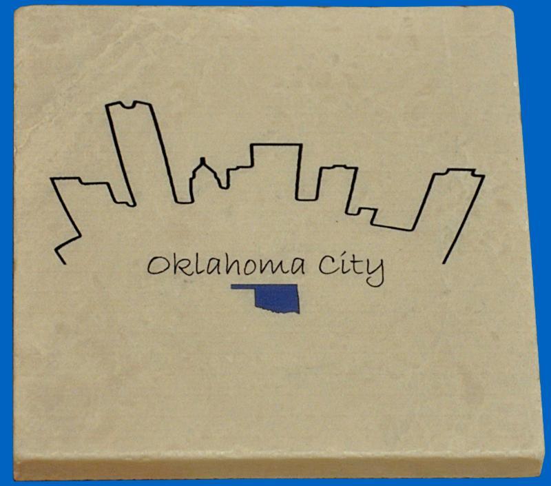 Oklahoma City Marble Coaster