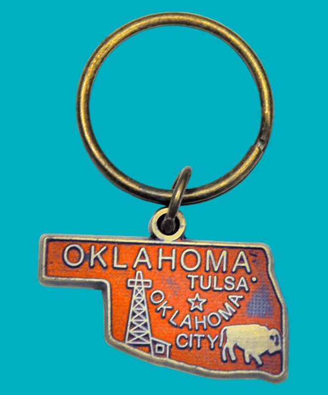 Oklahoma Bracelet - Bright Orange