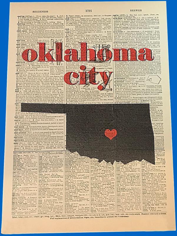 Oklahoma City Dictionary Page