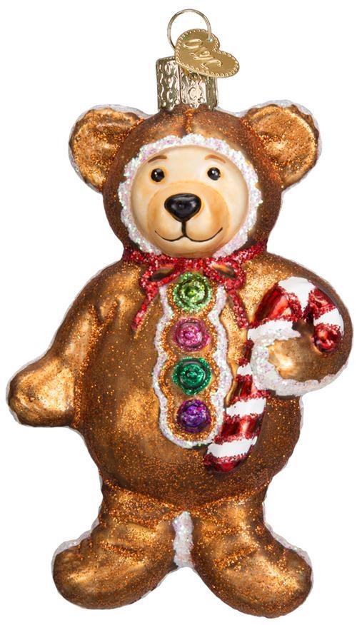 Old World - Gingerbread Teddy