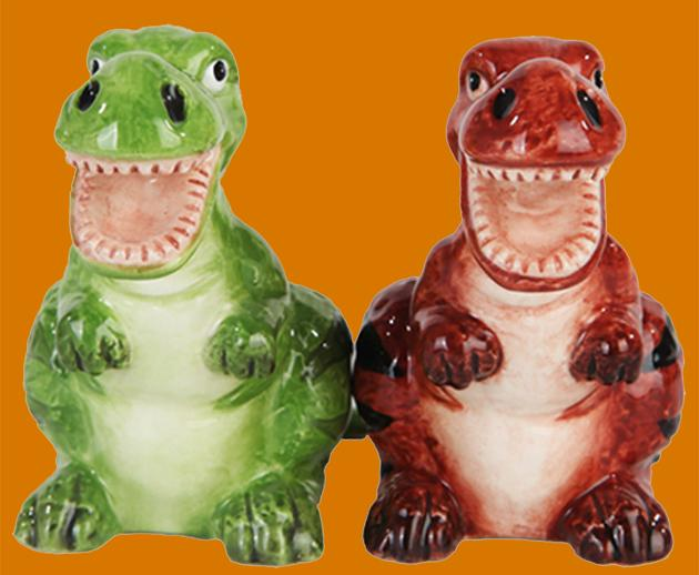 Dino Salt & Pepper