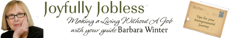Barbara Winter Joyfully Jobless
