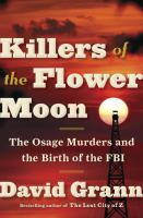 %22Killers of the Flower Moon%22 cover