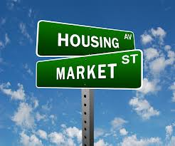 housing market sign