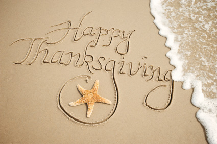 Thanksgiving in Sand