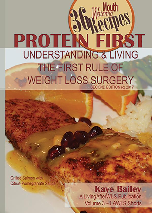 Protein First by Kaye Bailey