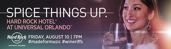 Wine Riffs at Hard Rock Hotel at Universal Orlando