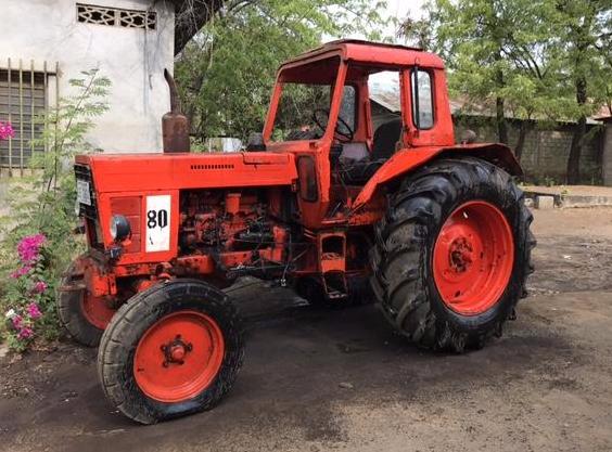 The Model Farm tractor