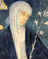 Painting of Saint Catherine of Siena