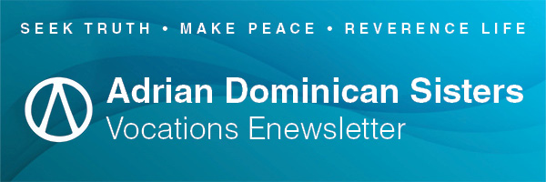 Vocations Enewsletter banner